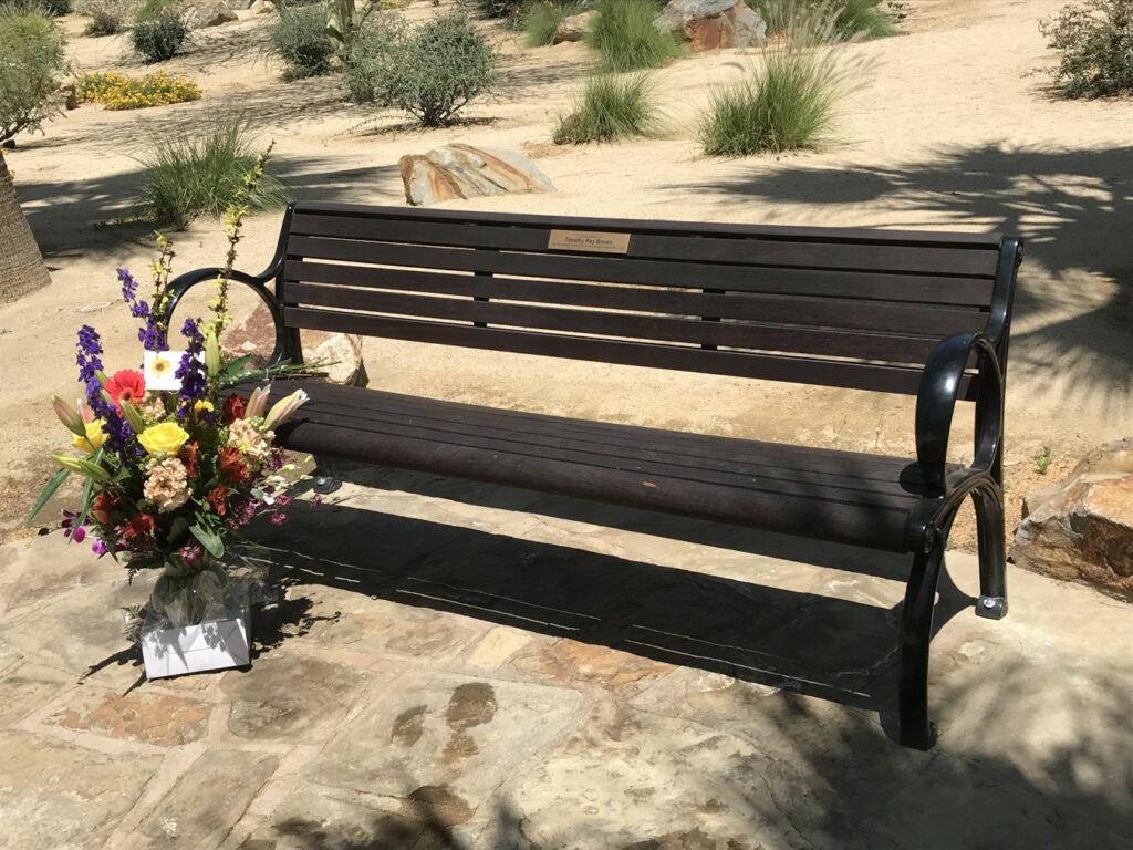 Timothy Ray Brown Memorial Bench